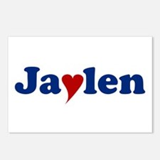 Jaylen with Heart Postcards (Package of 8)