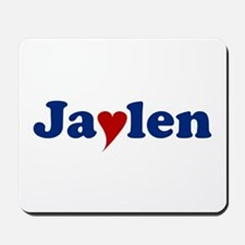 Jaylen with Heart Mousepad