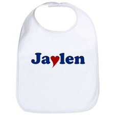 Jaylen with Heart Bib