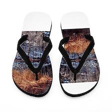 June Lake California Flip Flops