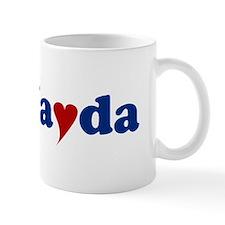 Jayda with Heart Small Mug