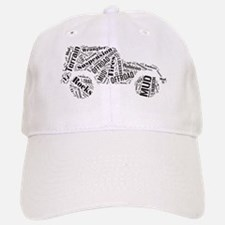 Jeep Word Cloud Baseball Baseball Cap