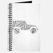 Jeep Word Cloud Journal