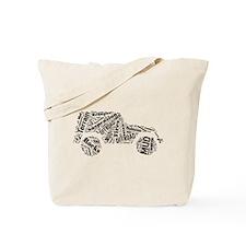 Jeep Word Cloud Tote Bag