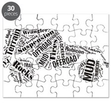 Jeep Word Cloud Puzzle