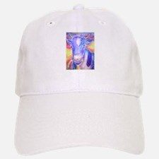Cow! Colorful, art! Baseball Baseball Cap