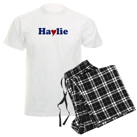 Haylie with Heart Men's Light Pajamas
