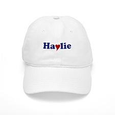Haylie with Heart Baseball Cap
