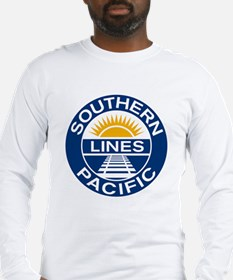 SouthernPacific(blk) Long Sleeve T-Shirt