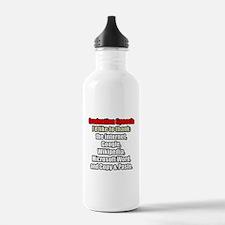 GRADUATION SPEECH Water Bottle