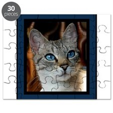 Blue Eyed Kitty Puzzle