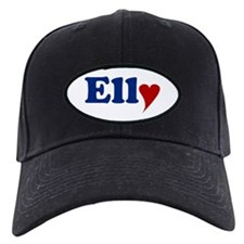 Elly with Heart Baseball Hat