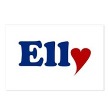 Elly with Heart Postcards (Package of 8)