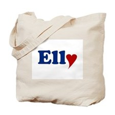 Elly with Heart Tote Bag
