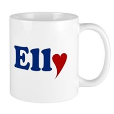 Elly with Heart Mug