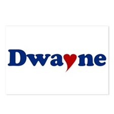 Dwayne with Heart Postcards (Package of 8)