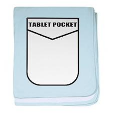 Tablet Pocket baby blanket
