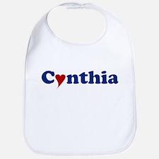 Cynthia with Heart Bib