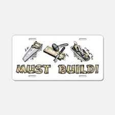 MUST BUILD! Aluminum License Plate