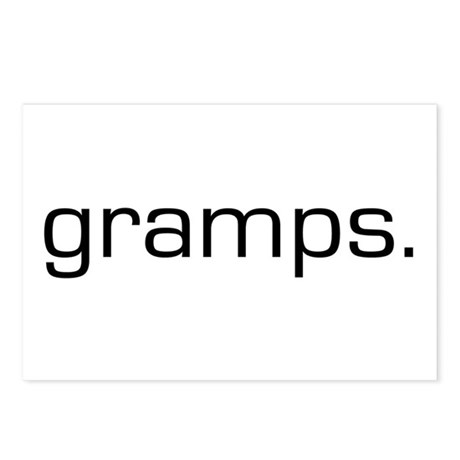Gramps Postcards (Package of 8)