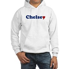 Chelsey with Heart Hoodie Sweatshirt