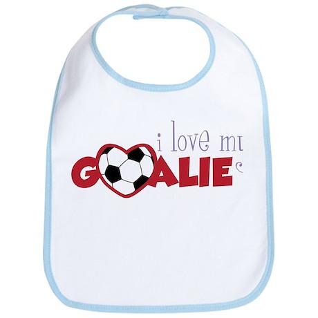 Love My Goalie Bib