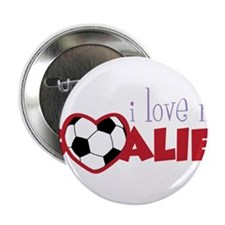 "Love My Goalie 2.25"" Button"