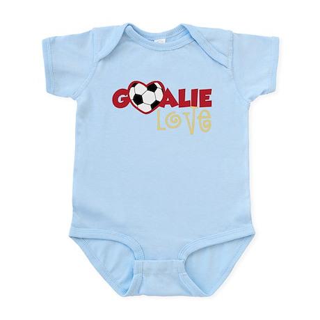 Goalie Love Infant Bodysuit