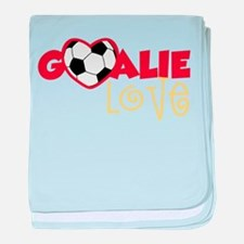 Goalie Love baby blanket