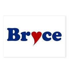 Bryce with Heart Postcards (Package of 8)