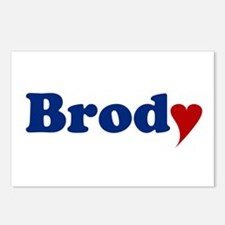 Brody with Heart Postcards (Package of 8)