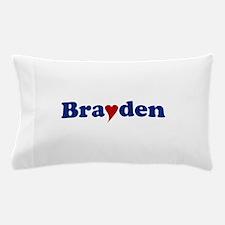 Brayden with Heart Pillow Case