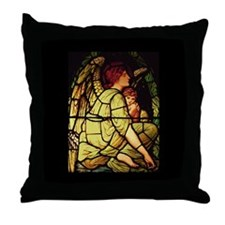 Angels for Christmas Throw Pillow