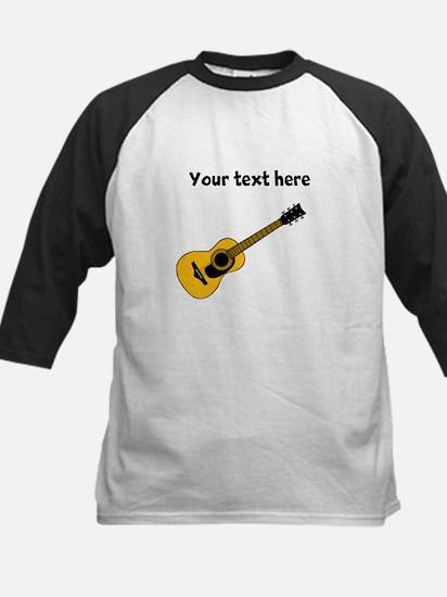 Customizable Guitar Kids Baseball Jersey