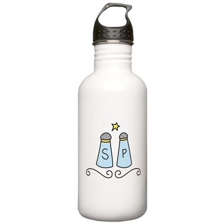 Salt And Pepper Stainless Water Bottle 1.0L
