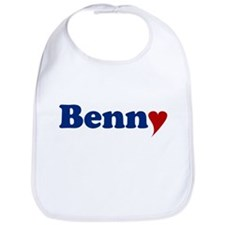 Benny with Heart Bib