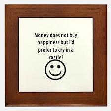 MONEY! Framed Tile