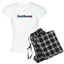 Anthony with Heart Pajamas