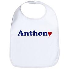 Anthony with Heart Bib