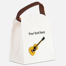 Customizable Guitar Canvas Lunch Bag