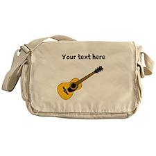 Customizable Guitar Messenger Bag