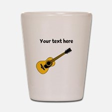 Customizable Guitar Shot Glass