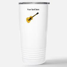 Customizable Guitar Stainless Steel Travel Mug