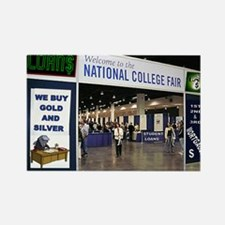 COLLEGE ADMISSION Rectangle Magnet