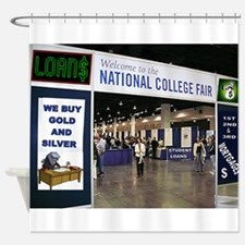 COLLEGE ADMISSION Shower Curtain
