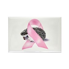 Pink Ribbon Rectangle Magnet