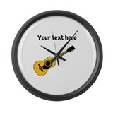 Yellow personalize Giant Clocks