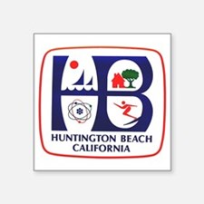 Huntington Beach California Rectangle Sticker