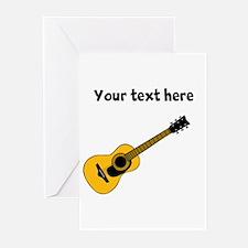 Customizable Guitar Greeting Cards (Pk of 10)