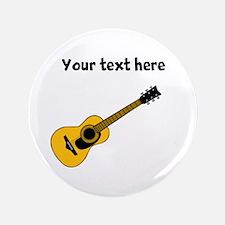 "Customizable Guitar 3.5"" Button"